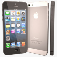 apple iphone 5 3d obj