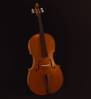 classic cello 3d model