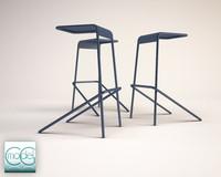 3d alodia stool model