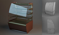 3d model showcase case