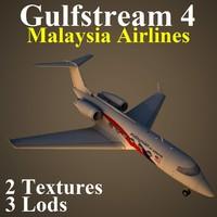 gulfstream 4 mas 3d model