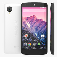 3d new lg google nexus model