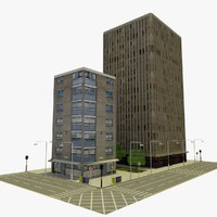 3ds max city block 5
