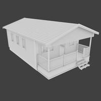 3d cabin interior