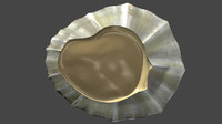limpet common marine 3d obj