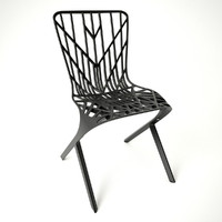 aluminum chair 3d fbx