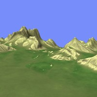 3d model metay terrain km-06