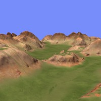 3d metay terrain km-09 model