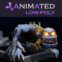 3d ghoul zombie model