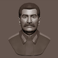 3d model of iosif stalin