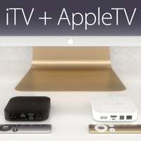 itv appletv apple 3d max