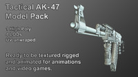 3d ak 47 tactical