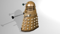 dalek doctor 3d 3ds