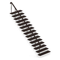 obj wood wooden stairs