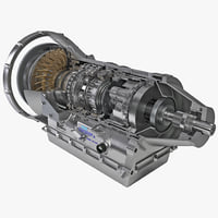 3d model of automatic transmission