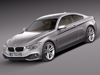 3d model of 2013 2014 sport coupe
