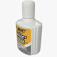3ds correction fluid bic