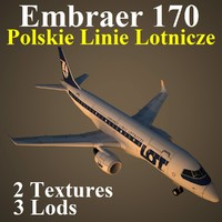 embraer lot 3d max
