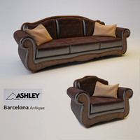 barcelona antique 3d model