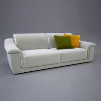 natuzzi volare sofa 3d model