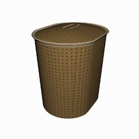 3d model of basket