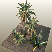 3d model games palms