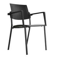 cadeira flat chair 3d obj