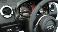 3d dashboard sports car model