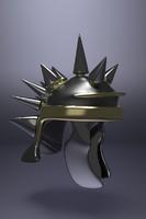 3d medieval helm model