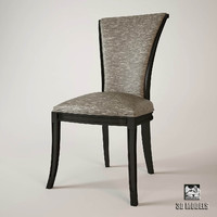3ds max claude opera chair