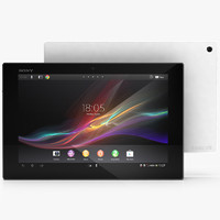3d model sony xperia tablet z