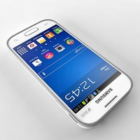 samsung galaxy s7260 3d model