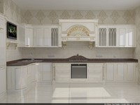 classical kitchen ermitaj 3d model