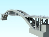 3d 3ds rio das antas bridge