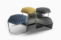 3ds max leather stool atelier