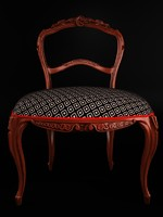 3d chair antique classic
