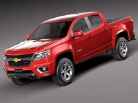 3d 2013 2015 suv chevrolet chevy model
