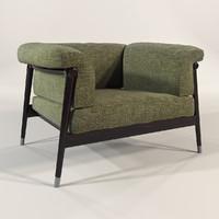 giorgetti - derby chair 3d max