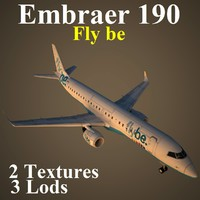 3d embraer bee model