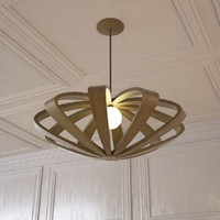 3ds max litten hanging lamp