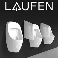 laufen urinal 3d model
