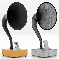 restoration hardware gramophone 3d model