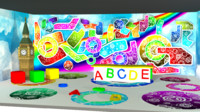 3d children tv studio model