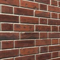 3d brick wall 09 model