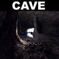 d model cave landscape