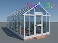 plants greenhouse 3d max