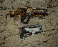 3ds max gun automatic