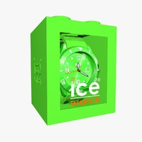 3ds green ice watch
