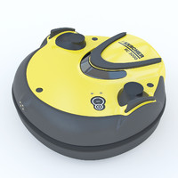 vacuum cleaner karcher rc 3d model