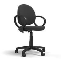 3d model cadeira sirio chair